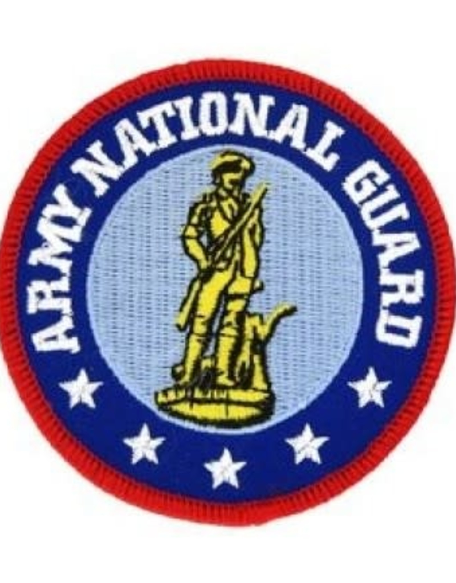 MidMil Embroidered Army National Guard Patch 3""