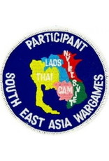 """MidMil Embroidered Participant South East Asia War Games Patch 3"""""""