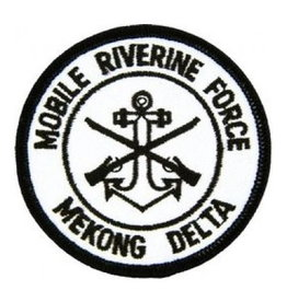 MidMil Embroidered Mobile Riverine Force - Mekong Delta Patch with Emblem 3""
