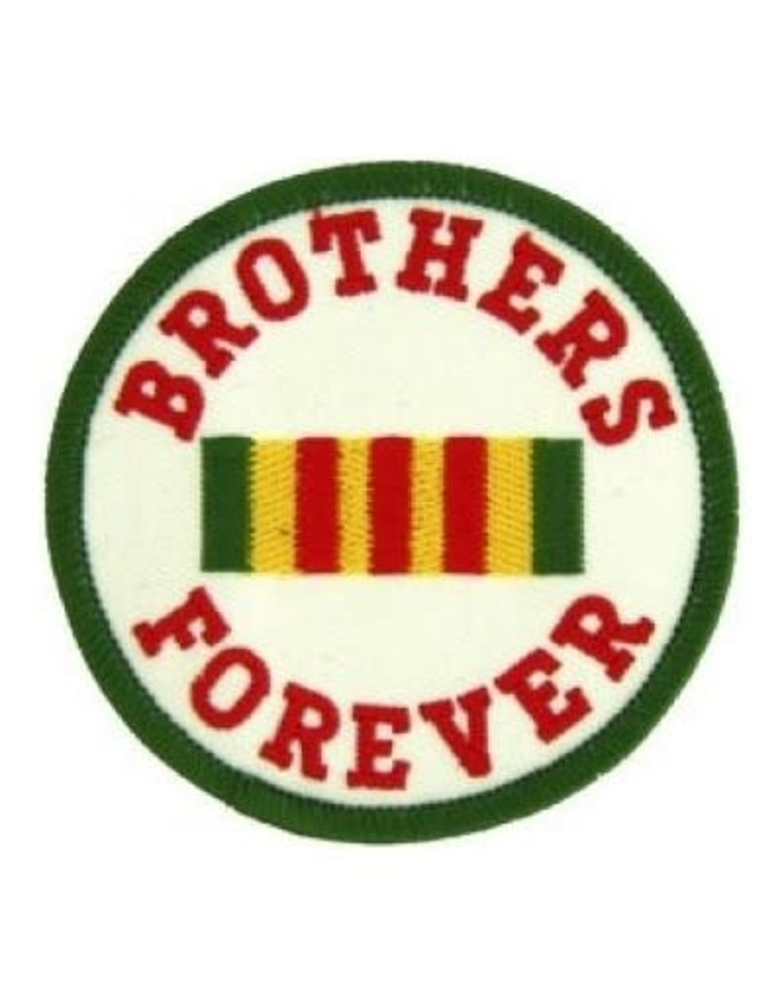 """MidMil Embroidered Brothers Forever Patch with Vietnam Service Ribbon 3"""""""