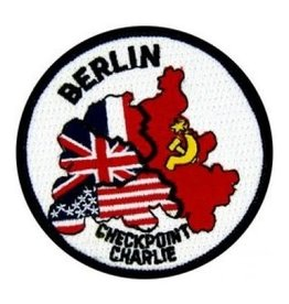 MidMil Embroidered Berlin Checkpoint Charlie Patch 3""