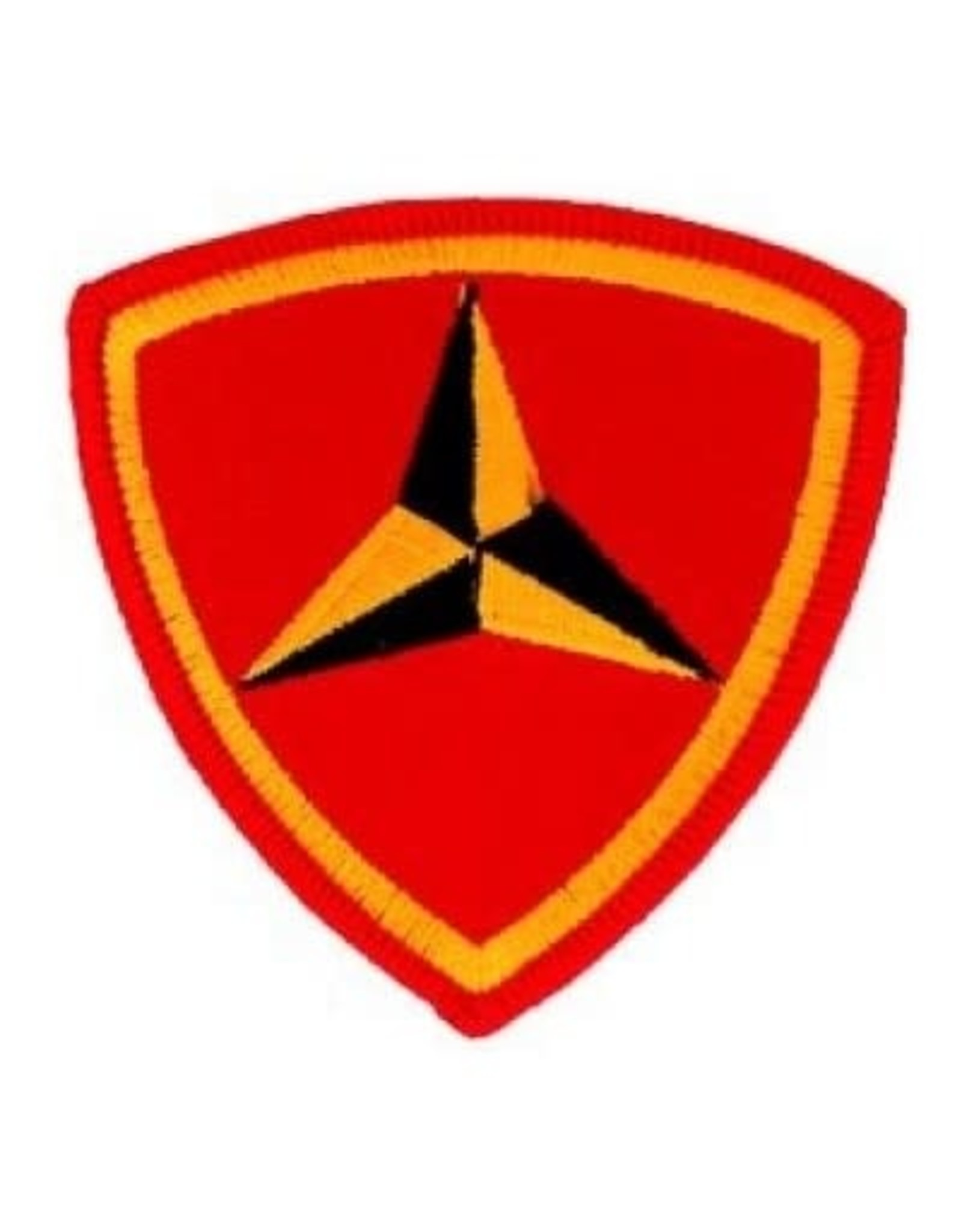 "MidMil Embroidered 3rd Marine Corps Division Emblem Patch 3.1"" wide x 3"" high"