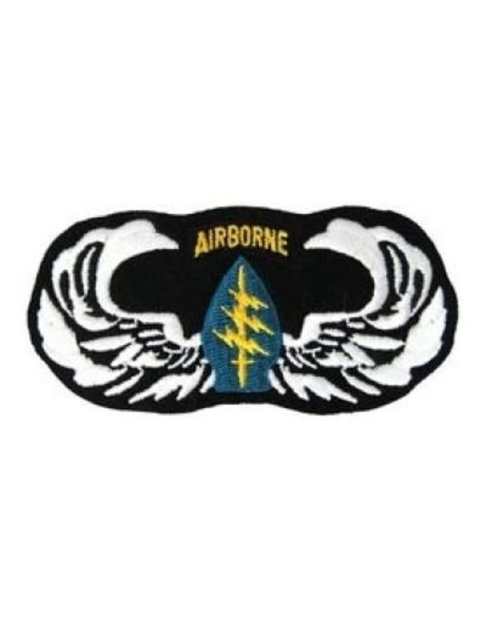 """MidMil Embroidered Army Special Forces Wings Emblem Patch 4"""" wide x 2"""" high"""