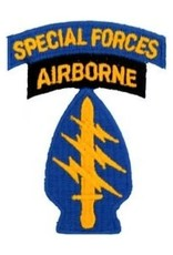 """MidMil Embroidered Army Special Forces Airborne Patch 2.2"""" wide x 3"""" high"""