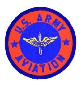 MidMil Embroidered U.S. Army Aviation Patch with Emblem 3""