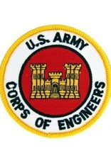 """MidMil Embroidered U.S. Army Corps of Engineers Patch with Emblem 3"""""""
