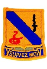 """MidMil Embroidered 14th Armored Cavalry Emblem Patch 2.2"""" wide x 2.6"""" high"""
