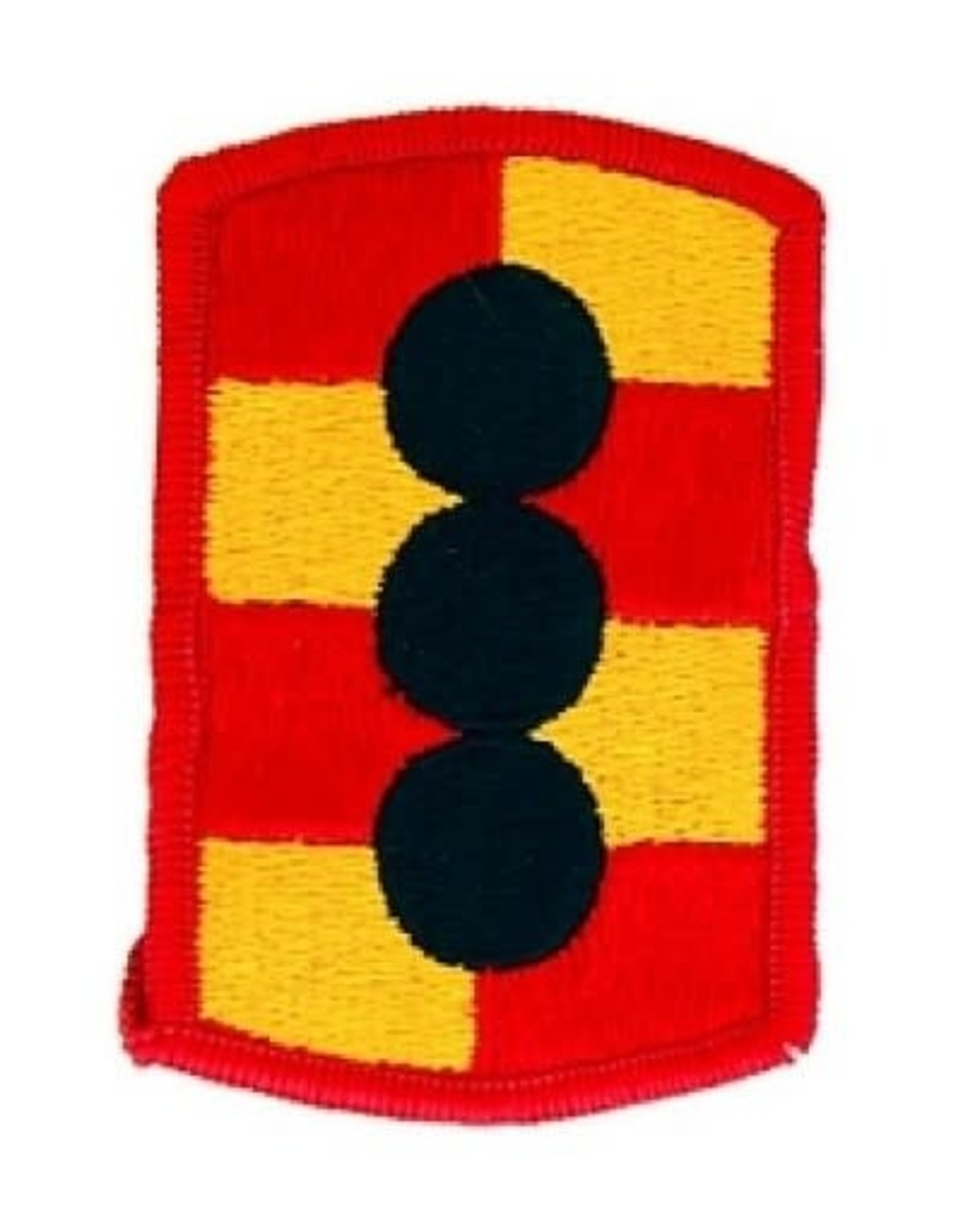 """MidMil Embroidered 434th Field Artillery Emblem Patch 1.9"""" wide x 3"""" high"""