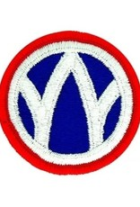 MidMil Embroidered 89th Infantry Division Emblem Patch 2.2""