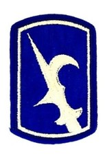 """MidMil Embroidered 67th Infantry Brigade Emblem Patch 2"""" wide x 3"""" high"""