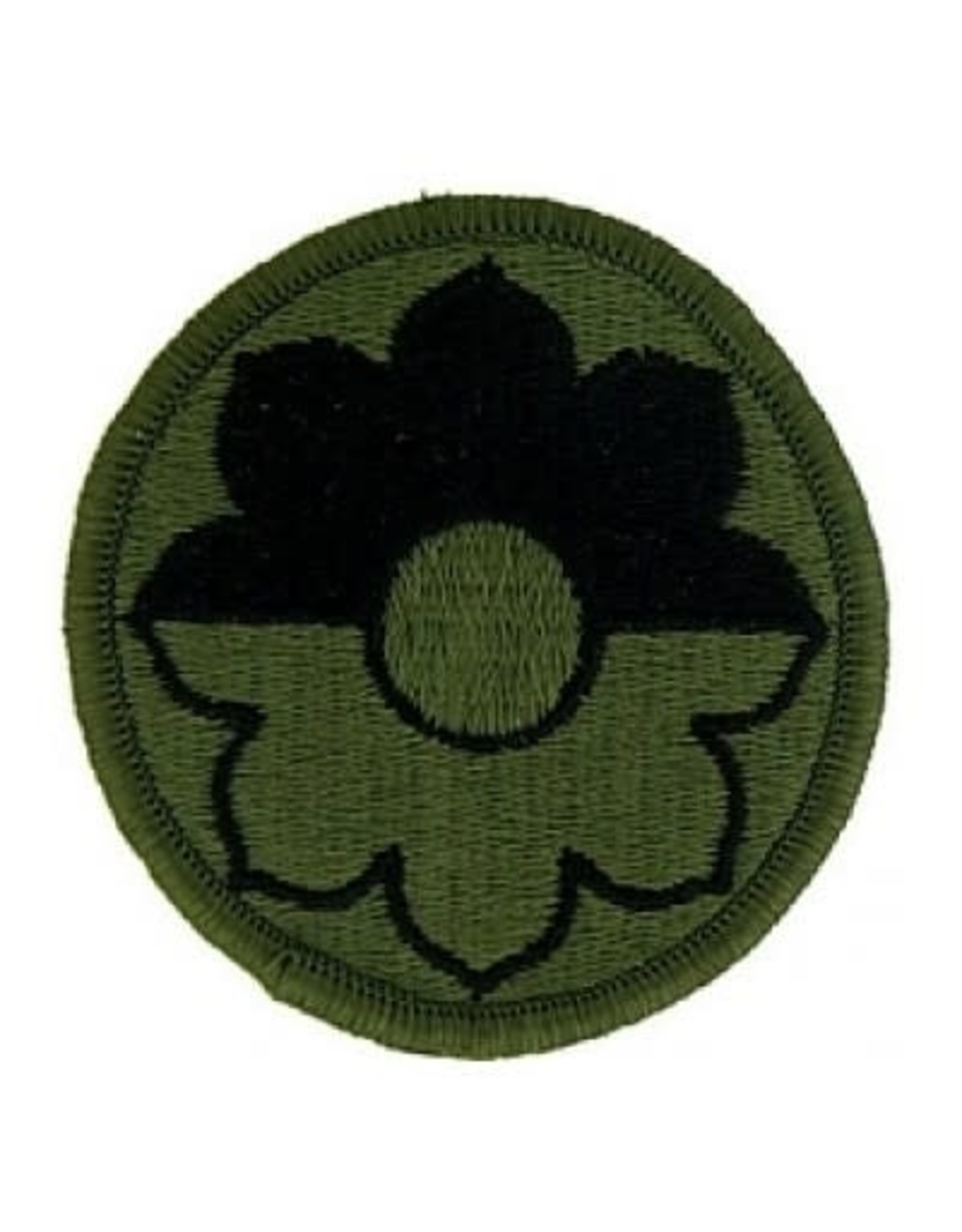 """MidMil Embroidered Subdued 9th Infantry Division Emblem Patch 2.5"""" Olive Drab"""