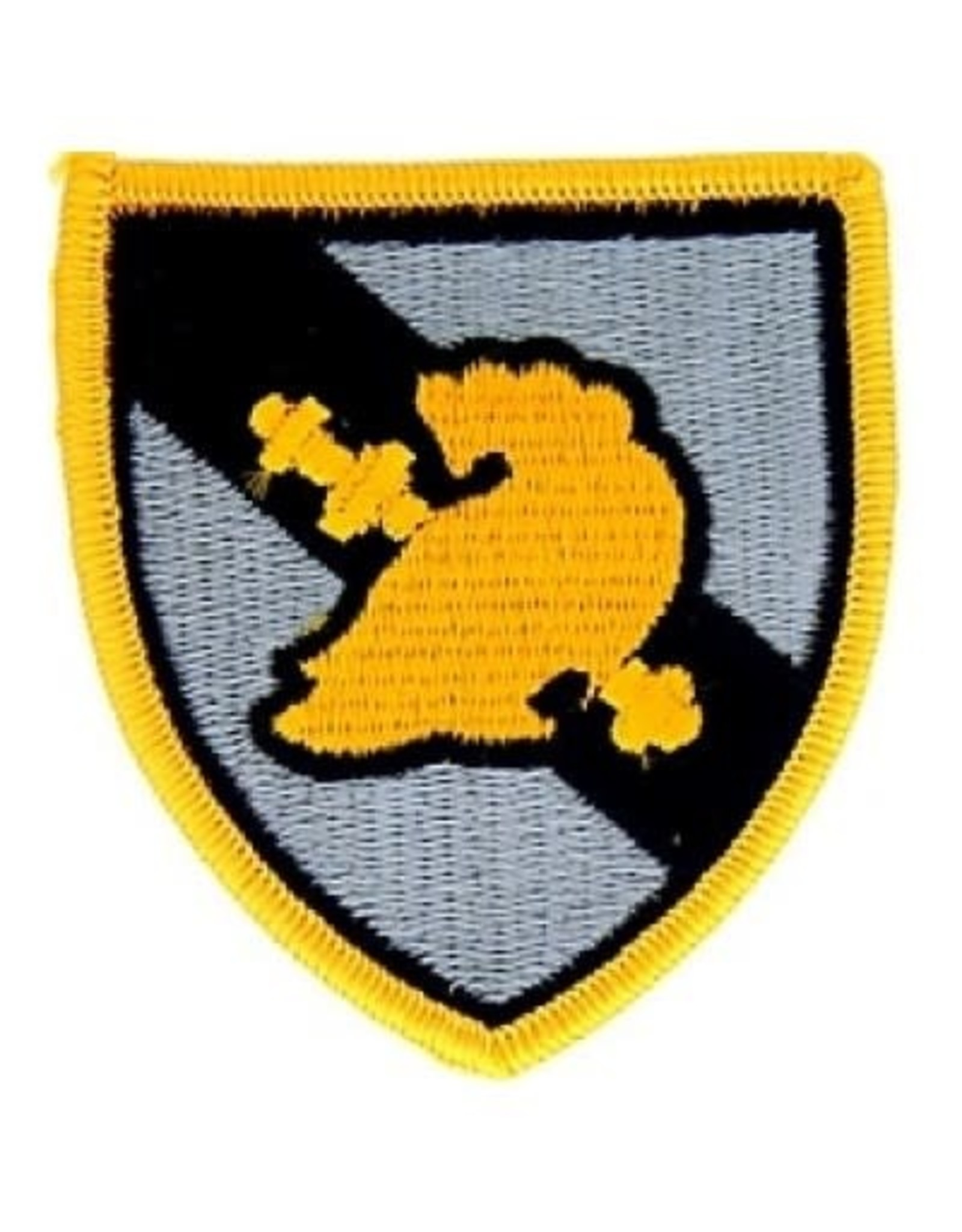 """MidMil Embroidered West Point Military Academy Emblem Patch 2.6"""" wide x 2.9"""" high"""
