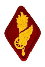 """MidMil Embroidered Army Transportation School Patch 2"""" wide x 3"""" high"""