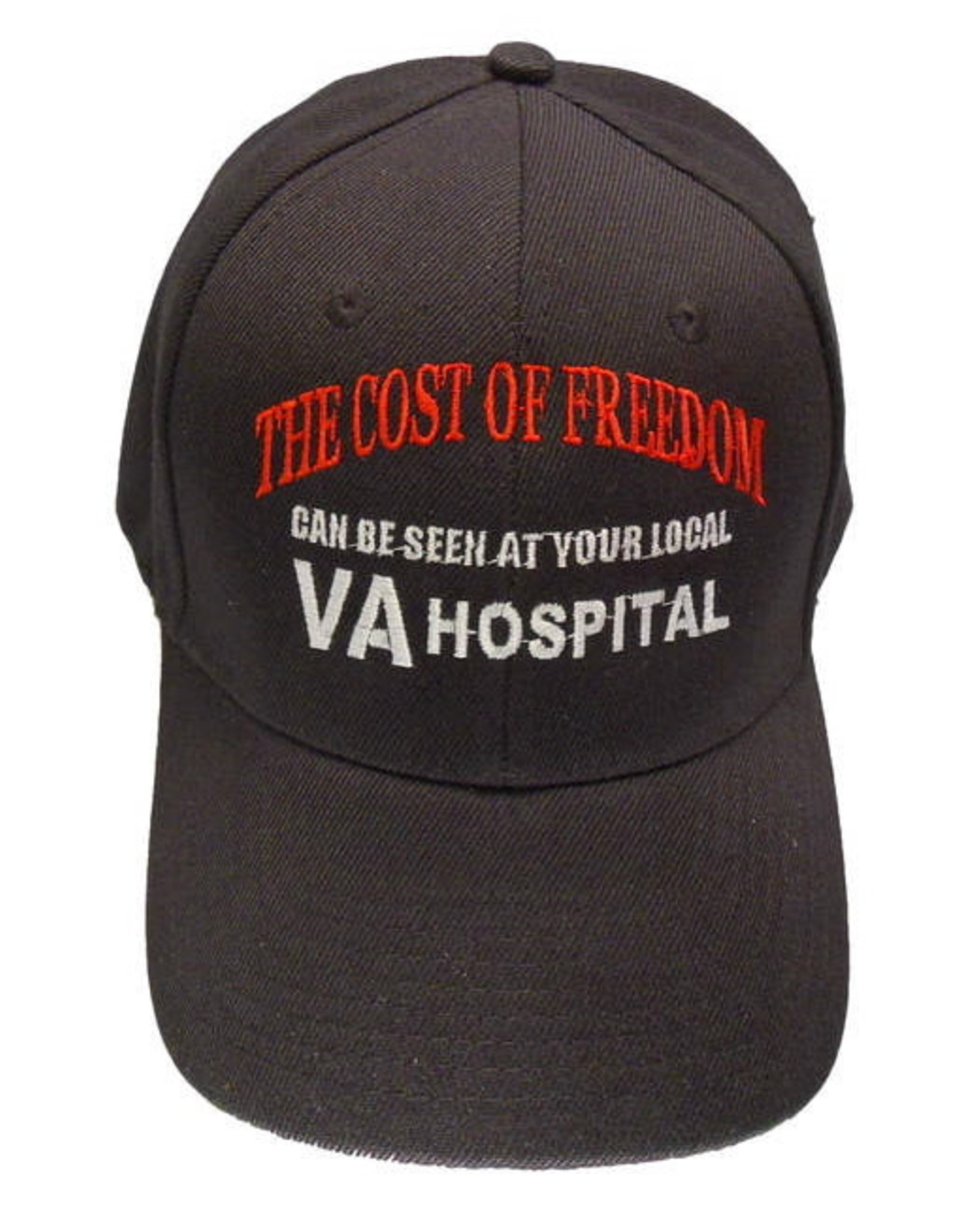 MidMil The cost of Freedom can be seen at your local VA Hospital Hat Black