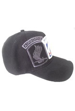 MidMil 173rd Airborne Brigade Hat with Emblem and Shadow Black