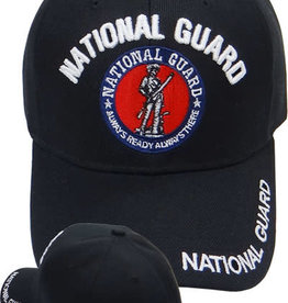 MidMil National Guard Hat with Seal Black
