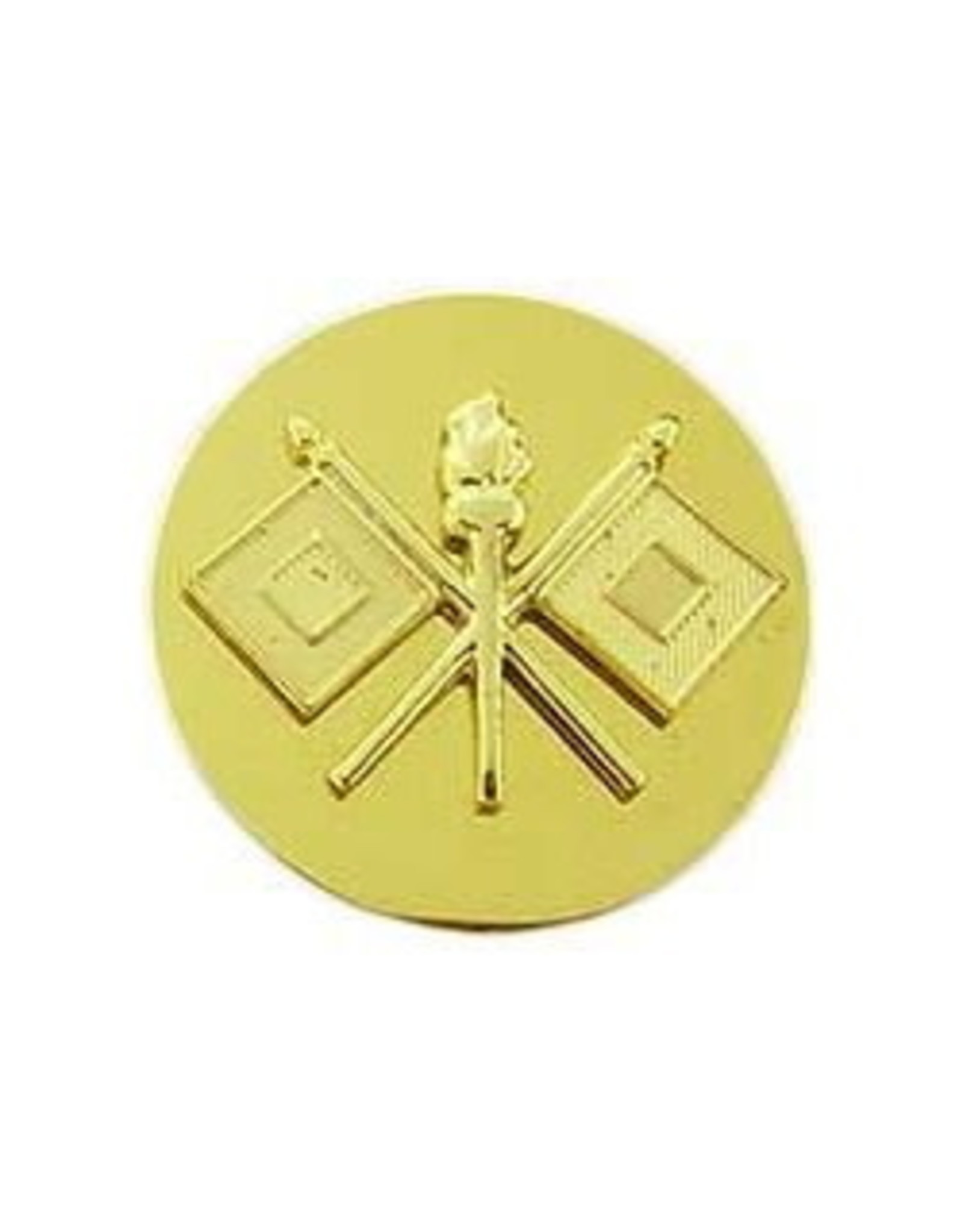"""MidMil Army Signal Corps Collar Device Pin 1 - 1/16"""""""