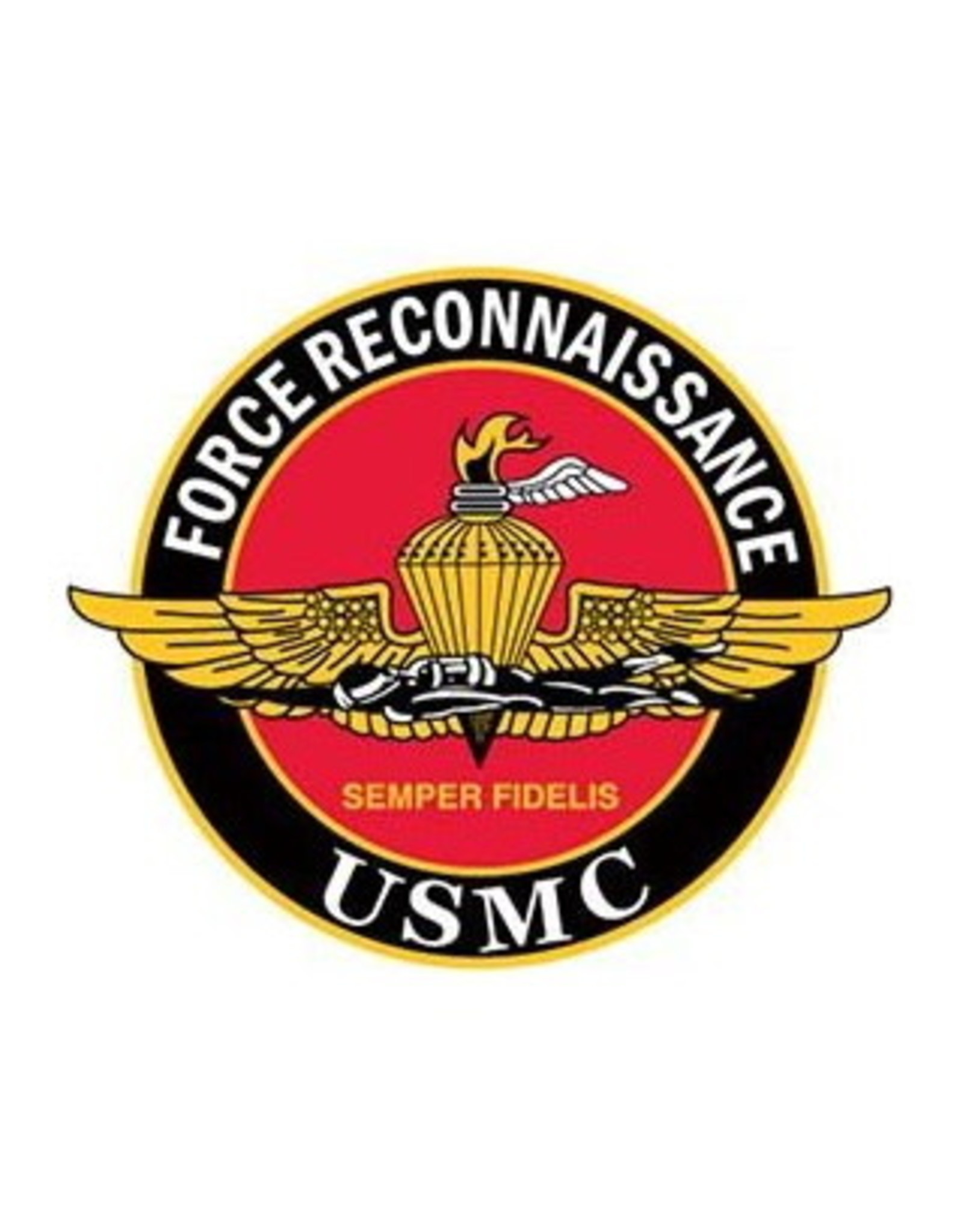 """MidMil Marine Corps Force Reconnaissance Pin 1-1/4"""""""