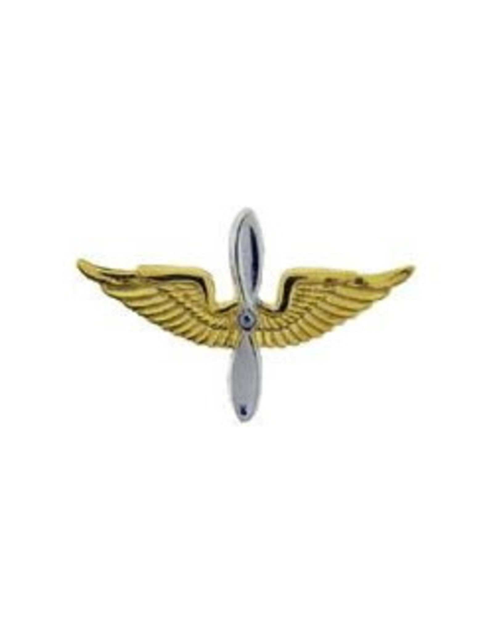 MidMil Army Aviation Officer Collar Emblem Pin 1-1/4""