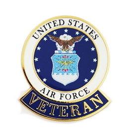 MidMil U.S. Air Force Veteran Seal Pin