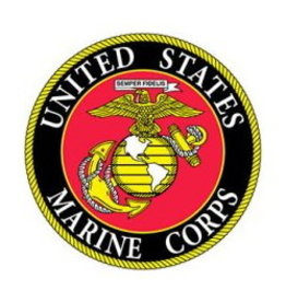 """MidMil United States Marine Corps Seal Patch 3"""""""