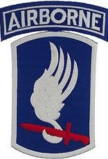 "MidMil Embroidered Army 173rd Airborne Patch Emblem Only. 5.2"" tall."
