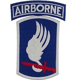 MidMil Embroidered Army 173rd Airborne Patch Emblem Only