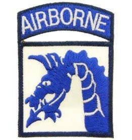 MidMil Embroidered Army 18th Airborne Emblem Patch