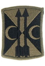 "MidMil Embroidered Subdued Army 212th Field Artillery Brigade Emblem 2.2"" wide x 3"" high Olive Drab"