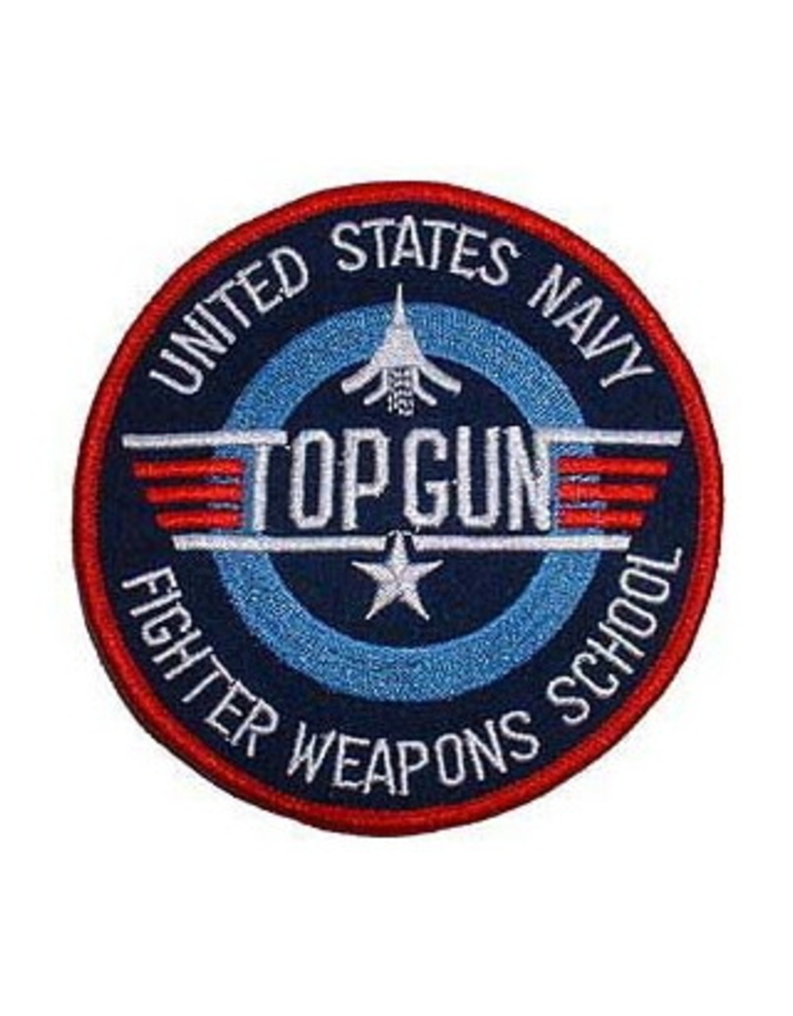 MidMil Embroidered Navy Top Gun Fighter Weapons School 3""
