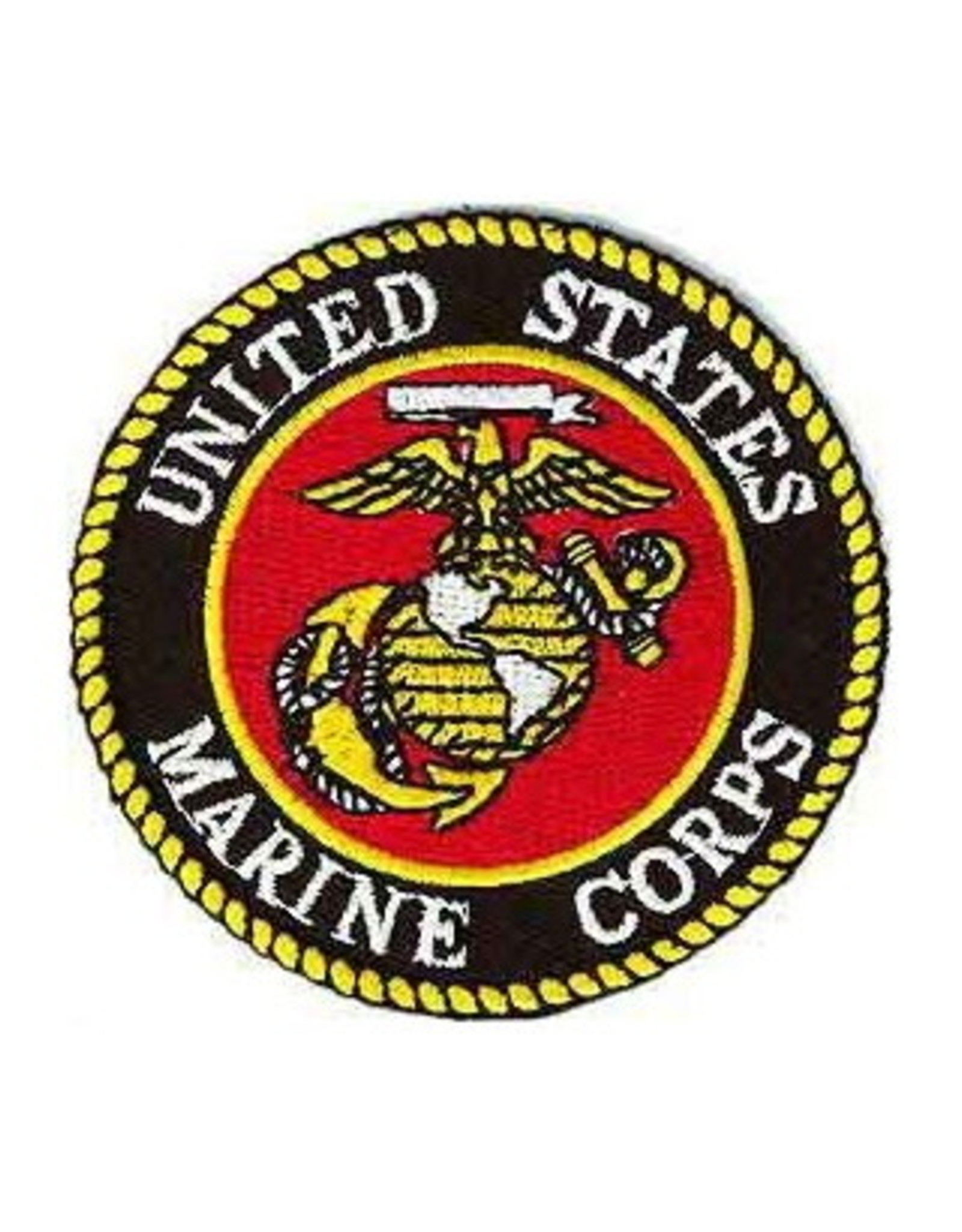 """MidMil Embroidered Marine Corps Seal Patch 4"""""""