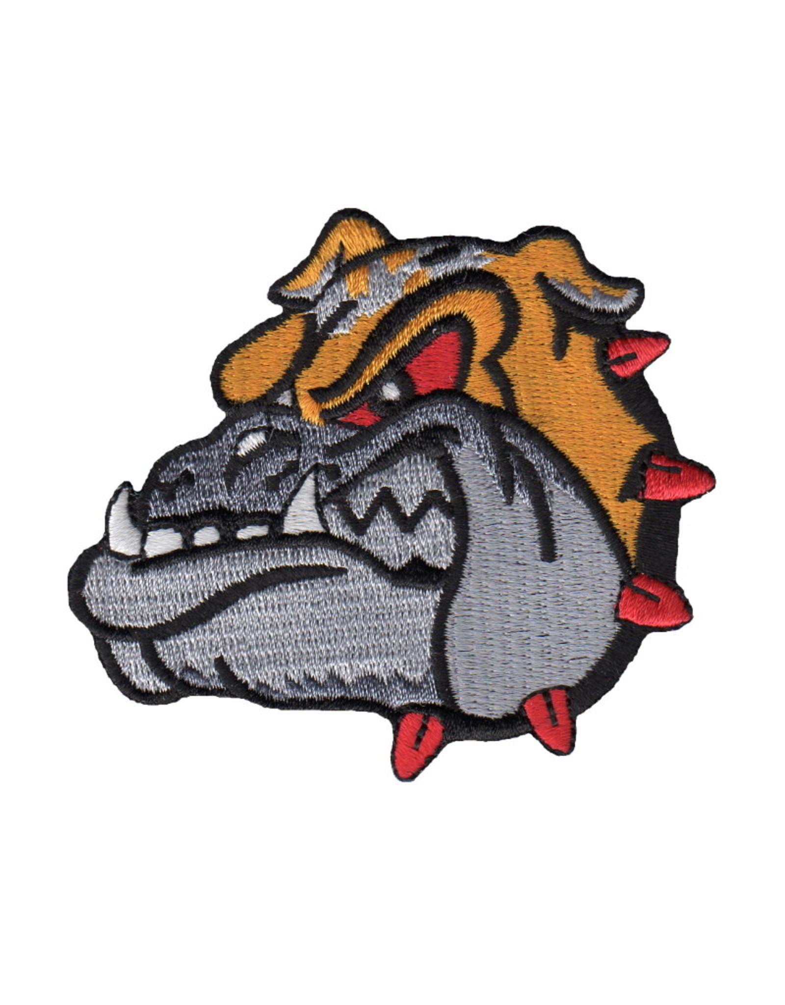 "MidMil Embroidered Marine Devildog Patch 3"" wide x 2.7"" high"