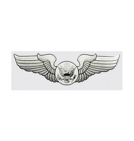 "MidMil Air Force Aircrew Wings Decal 5.25"" wide x 1.5"" high"