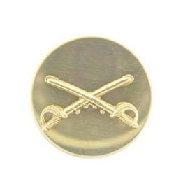 "MidMil Army Cavalry Collar Device Pin 1-1/16"" Dia"