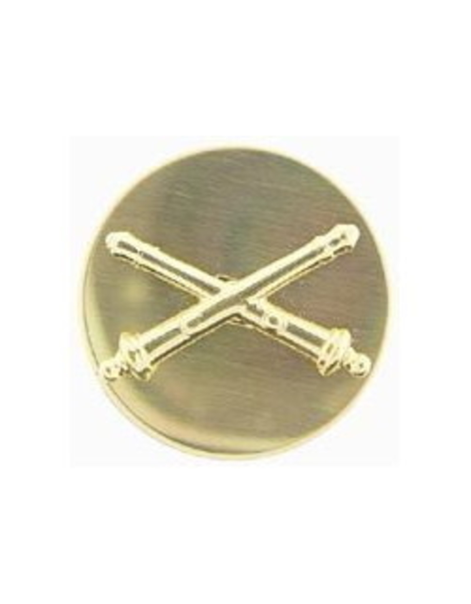 "MidMil Army Field Artillery Collar Device Pin 1-1/16"" Dia"