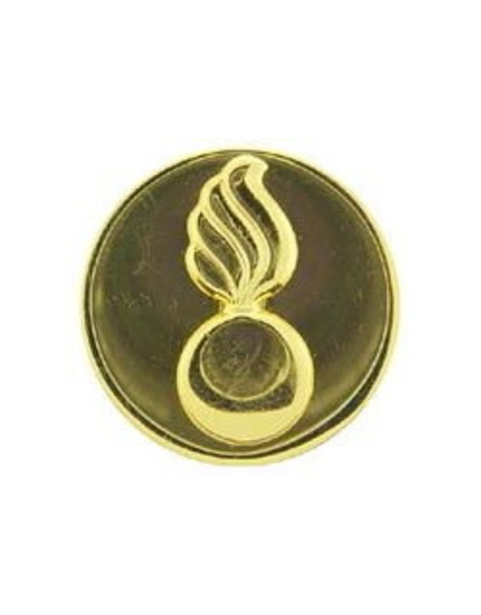 "MidMil Army Ordnance Collar Device Pin 1-1/16"" Dia"