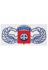 "MidMil Army 82nd Airborne Wings Decal 7.75"" wide x 3.5"" high"