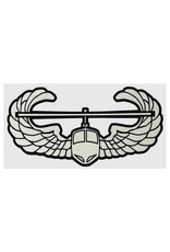 "MidMil Army Air Assault Wings Emblem Decal 6.3"" wide x 3.3"" high"