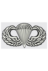 """MidMil Army Airborne Para Wings Decal 8.1"""" wide x 4.6"""" high"""