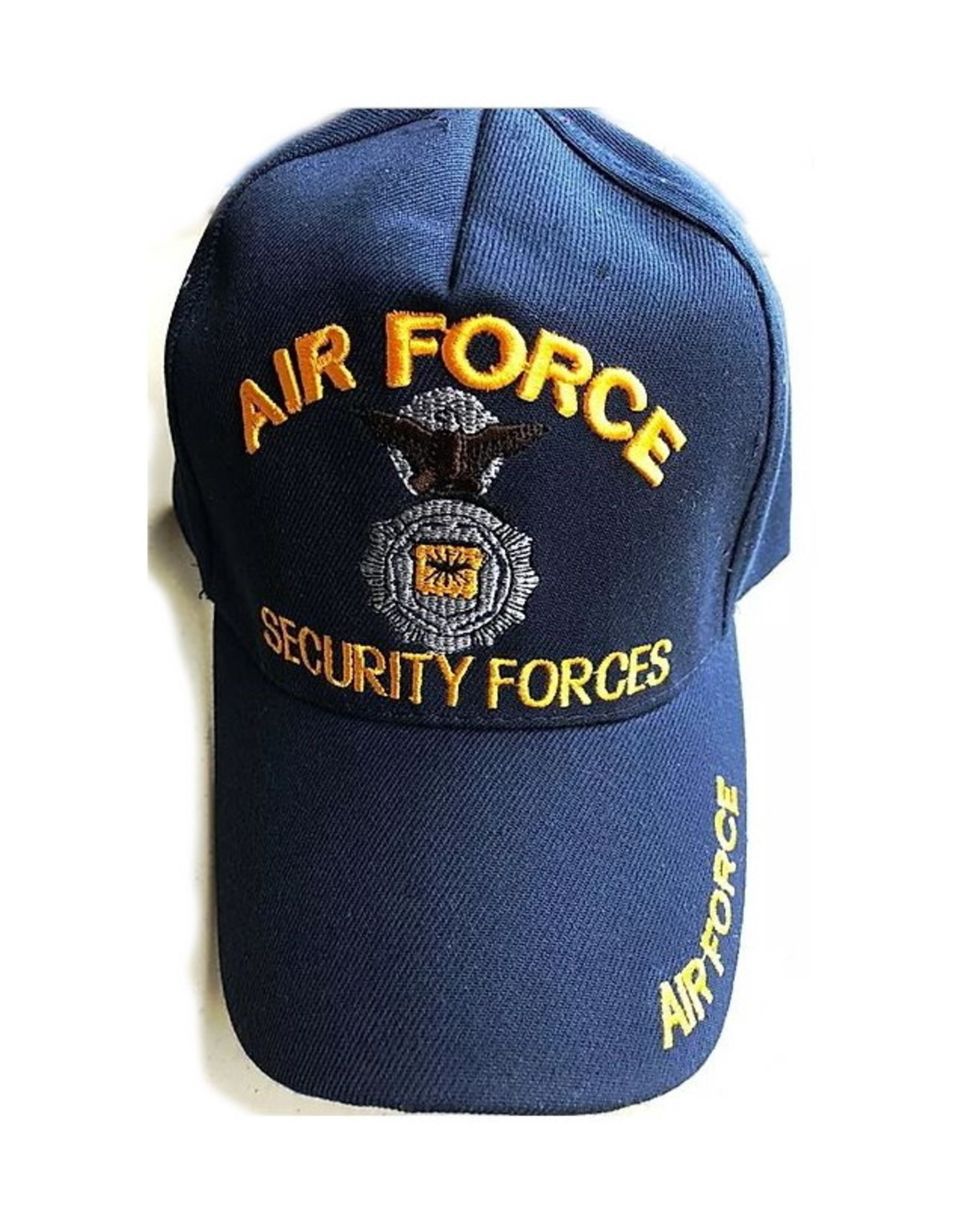 MidMil Air Force Security Forces Hat with Badge Dark Blue