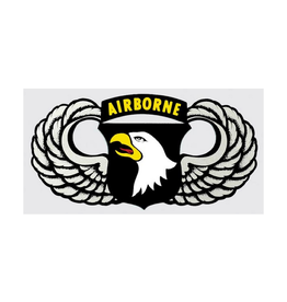 """MidMil Army 101st Airborne Wings Decal 5.25"""" wide x 2.75"""" high"""