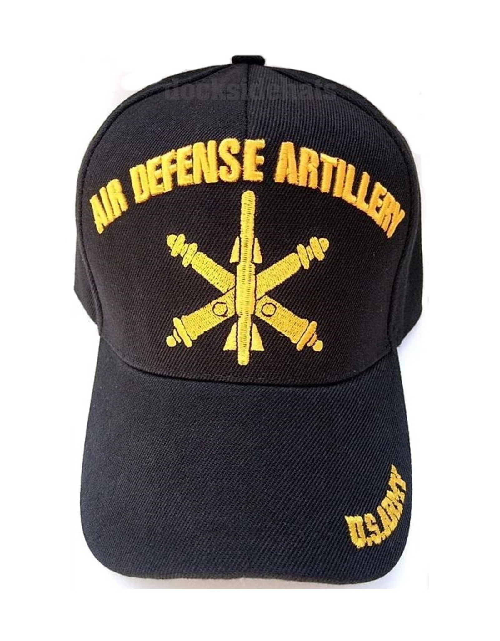 MidMil Army Air Defense Artillery Hat with Emblem Black