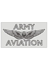 "MidMil Army Aviation Aviator Wings Decal 4.5"" wide x 2.5"" high"