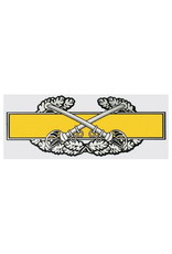 """MidMil Army Combat Cavalry Badge Decal 6.5"""" wide x 2.5"""" high"""