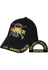 MidMil US Armed Forces Sniper Hat Black