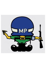 """MidMil Army Miltary Police MP Character Decal 3.5"""" wide x 3.1"""" high"""