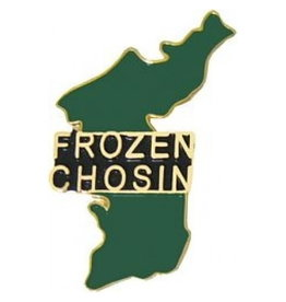 "MidMil ""Frozen Chosin"" Korea Map Pin 1 3/8"""