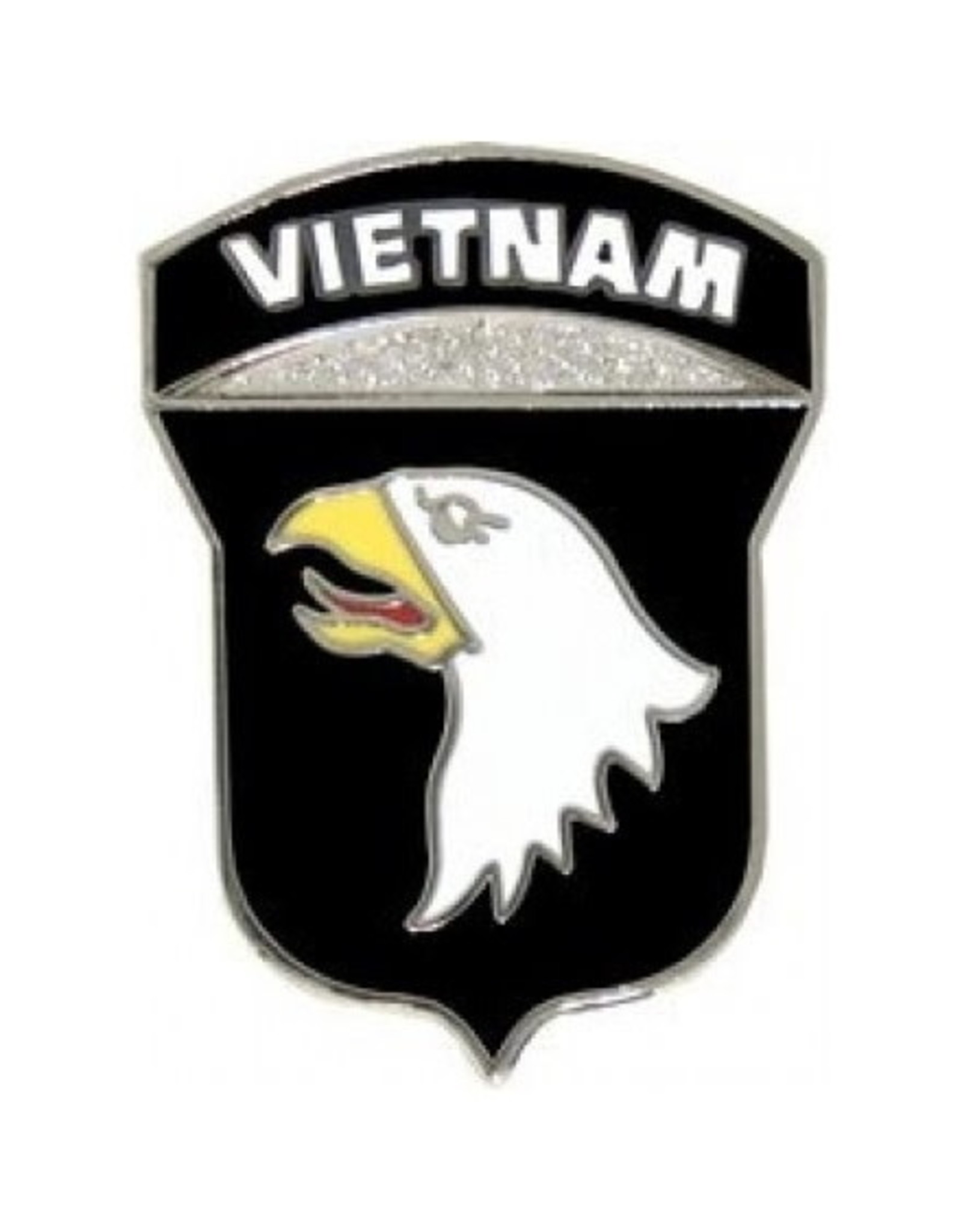 MidMil 101st Airborne Division Vietnam Pin 1""