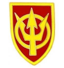 "MidMil Army 4th Transportation Command Emblem Pin 7/8"""