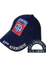 MidMil Army 82nd Airborne Division Hat with Emblem Only Dark Blue